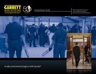 Garrett Security Buyer's Guide