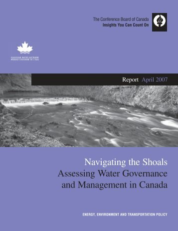 Navigating the Shoals: Assessing Water Governance ... - Waterbucket
