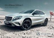 Download Preisliste GLA-Klasse Edition 1 - Mercedes-Benz ...