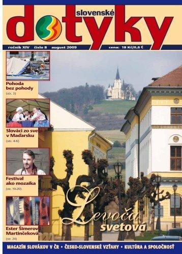 Slovenské dotyky 08 (PDF - 5,7 MB) - Slováci vo svete