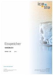 Eisspeicher Handbuch DE