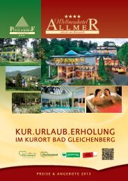 KUR.URLAUB.ERHOLUNG - Hotel Allmer