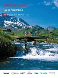 Empresas suíças - Swisscam