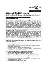 Spieleliste_Spielend Deutsch lernen - wienXtra-spielebox