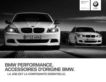 PerfE8xE9x CHfr Titel.indd - BMW
