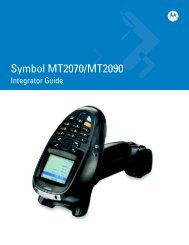 MC1000 with Windows CE 5.0 Integrator Guide
