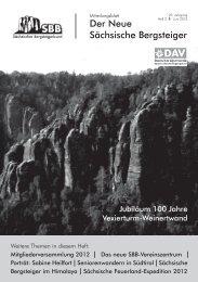 Wanderbus - Sächsischer Bergsteigerbund