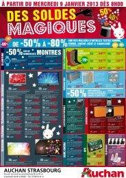 dE -50%À -80% - Auchan