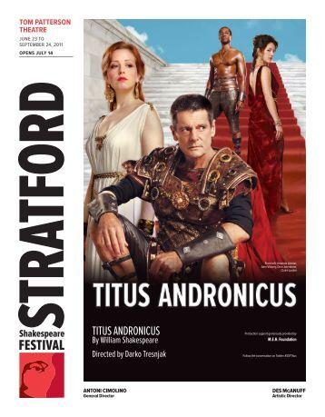 TiTus andronicus - Stratford Festival