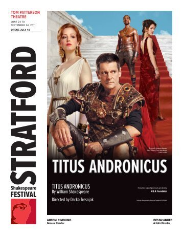 TiTus andronicus - Stratford Festival