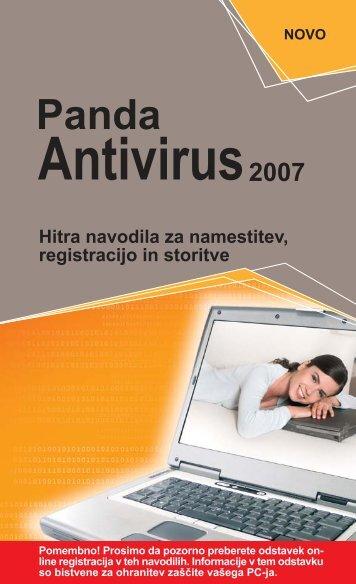 PANDA ANTIVIRUS 2007.pdf - E-Misija