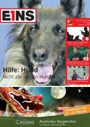 Hilfe: Hund - E1NS-Magazin