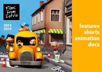 features shorts animation docs - Nacionālais Kino centrs
