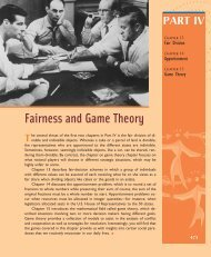Fairness and Game Theory - W.H. Freeman