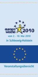 Programmheft Europawoche Mai 2011 - Fit-fuer-das-ausland.de