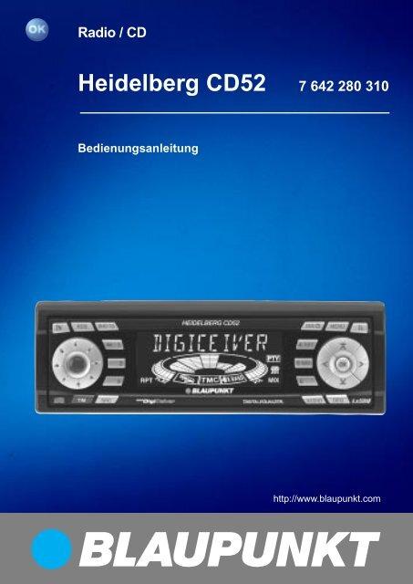 Heidelberg CD52 7 642 280 310 - Blaupunkt