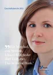 Geschäftsbericht 2012 - BBBank eG