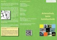 Merkblatt Artenschutz beim Gehölzschnitt - Stadt Osnabrück