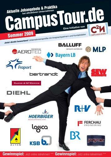 Tourhandbuch Sommer 2009 - CampusTour.de