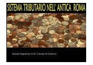Il sistema tributario nell'antica Roma - Liguria