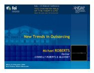 New Trends in Outsorcing - Andaf