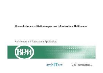 Come costruire un'infrastruttura multi-banca - Guide Share Italia