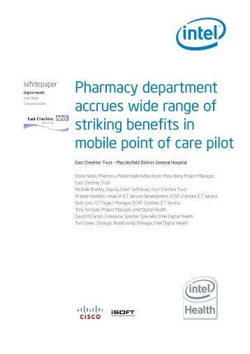 Pharmacy department accrues wide range of ... - HIMSS AsiaPac