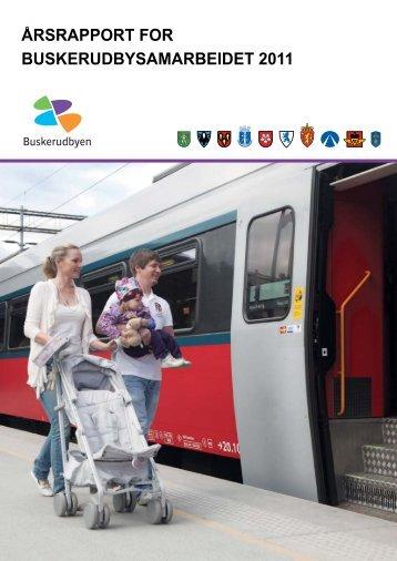 Årsrapport fra Buskerudbyen 2011. - Drammen kommune