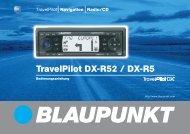 DX-R52 Titel/Rück D,F,I - Blaupunkt