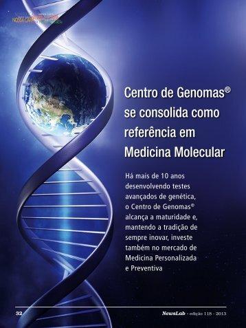 Centro de Genomas® se consolida como referência em ... - NewsLab