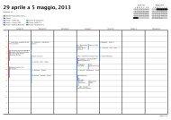29 aprile a 5 maggio, 2013 - Accademia del Suono