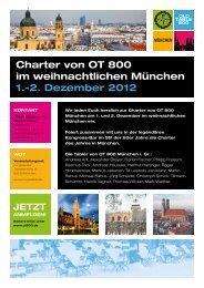 Charter von OT 800 im weihnachtlichen München 1. - Old-Tablers ...