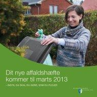 Storskrald 1. kvartal 2013 - Vordingborg Kommune