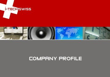 company profile - ITechSwiss