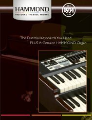 Product Brochure - Hammond USA