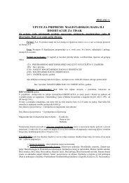 prilog 3. upute za pripremu magistarskog rada ili disertacije za tisak