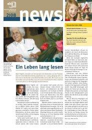 Ausgabe 02/08 - GGG Stadtbibliothek Basel
