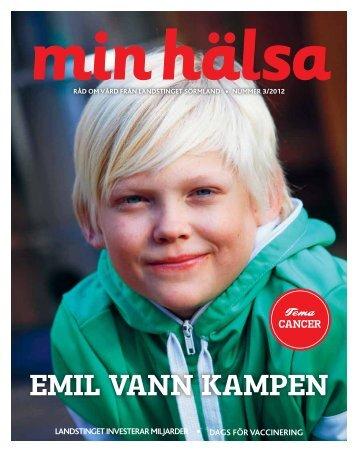 Min hälsa nr 3 2012 - Landstinget Sörmland