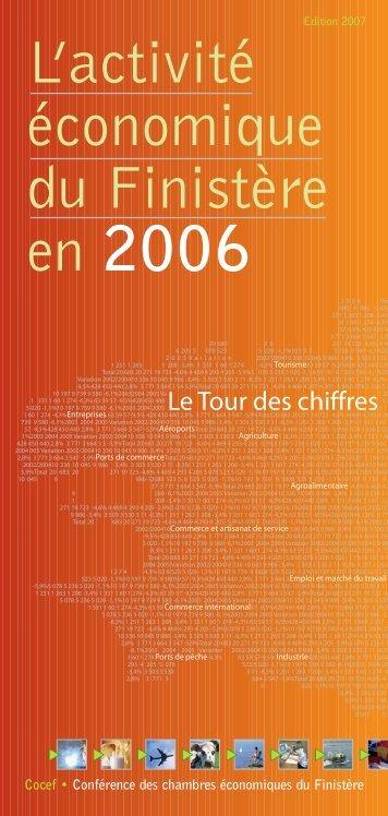 """Dépliant """"chiffres clés"""" - (CCI) de Quimper Cornouaille"""