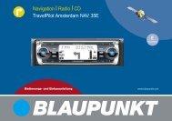 Navigation Radio CD TravelPilot Amsterdam NAV 35E - Blaupunkt