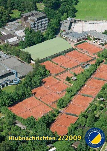 Klubnachrichten 2/2009 - Tennisklub Blau-Gold Steglitz eV