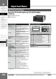 Digital Panel Meters - M-System