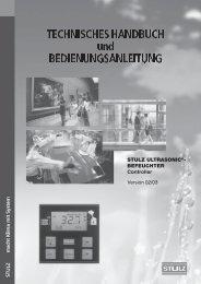 TECHNISCHES HANDBUCH und ... - Rafstjorn