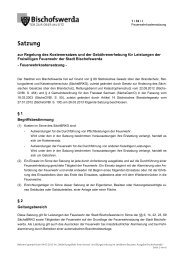 1/32/I - Feuerwehrkostensatzung - Bischofswerda