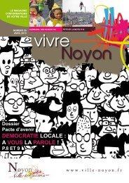 DEMOCRATIE LOCALE : A VOUS LA PAROLE ! - Ville de Noyon