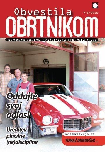 Obvestila julij avgust 2010 - Območna obrtno-podjetniška zbornica ...