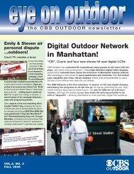 Digital Outdoor Network in Manhattan! - CBS Outdoor
