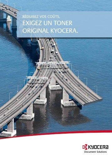 Brochure toner KYOCERA