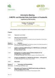 Informative Meeting 3-MCPD- und Glycidyl-Fatty Acid Esters ... - OVID