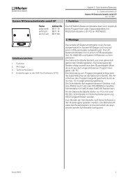 System M-Datenschnittstelle seriell UP 2. Montage 1 ... - Eibmarkt.com